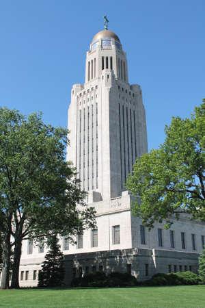 nebraska: Nebraska State Capital Stock Photo