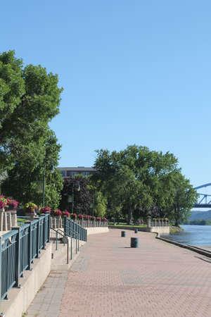 riverfront: La Crosse Wisconsin Riverfront