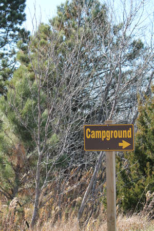 campground: Campground Sign