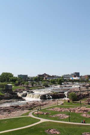 sioux: Falls Park-Sioux Falls, South Dakota