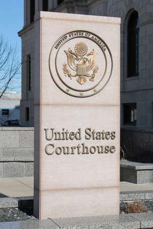 United States Courthouse 版權商用圖片