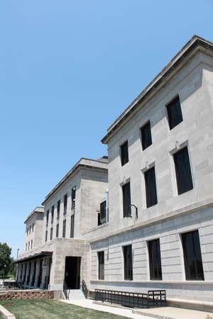 City Hall in Cedar Rapids, Iowa 版權商用圖片