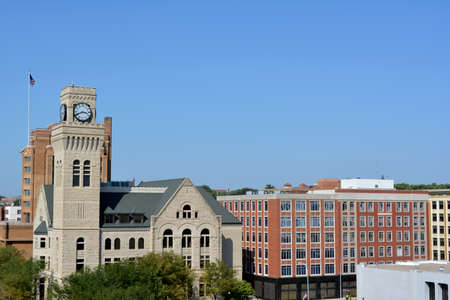 iowa: Skyline of downtown Sioux City, Iowa
