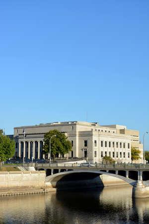 Linn County Courthouse in Cedar Rapids Iowa