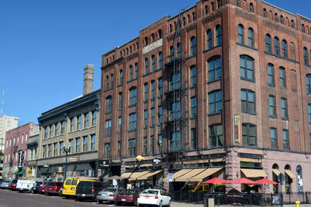 Old Market District of downtown Omaha, Nebraska