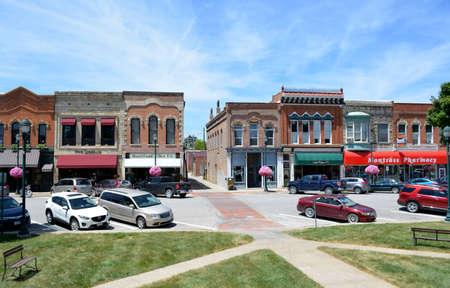 Downtown Winterset Iowa