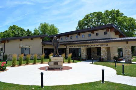 john wayne: John Wayne Museum-Winterset, Iowa