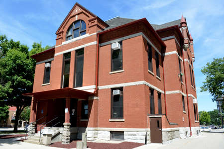 county: Adair County Courthouse-Greenfield Iowa Editorial