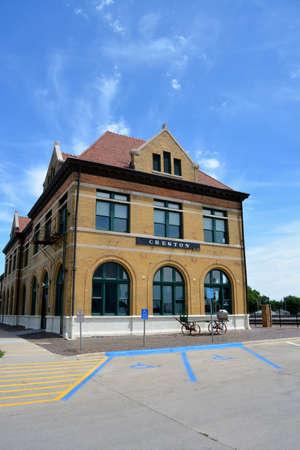 iowa: Creston Iowa Railroad Station