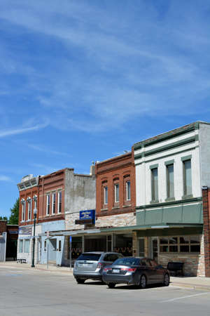 Downtown Greenfield, Iowa