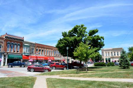iowa: Downtown Winterset Iowa