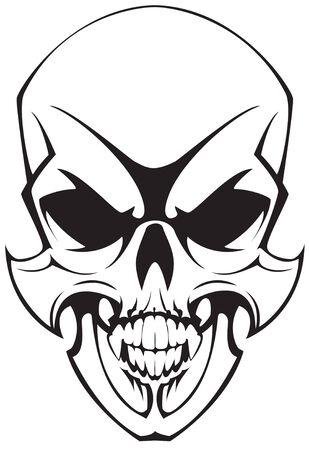 tatto: tatto skulll