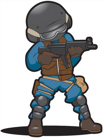 firearms: El caza de grupo de prop�sito especial