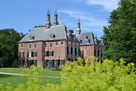 Castle Duivenvoorde in Voorschoten, Netherlands, on a summer day  Stock Photo - 14311720