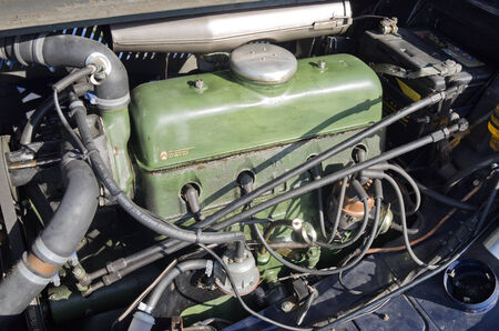 traction: Engine of the Citroen traction from 1952