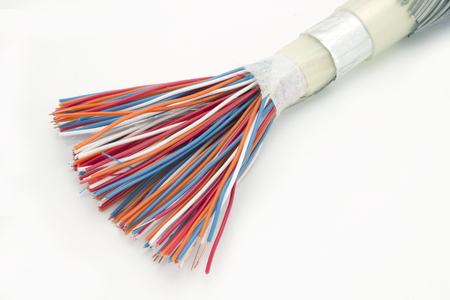 Demo model of a cable that shows how it is constructed