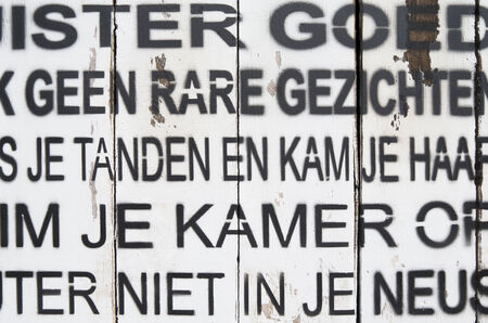 lemmer: NETHERLANDS - LEMMER - MEDIA MAY 2014  Artwork with Dutch spells