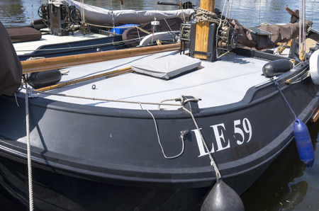 lemmer: NETHERLANDS - BLADE - CIRCA MAY 2014   Luxury yachts are docked at the port of Lemmer