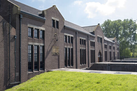 lemmer: The ir D F  Wouda pumping station in Tacozijl, Friesland, The Netherlands