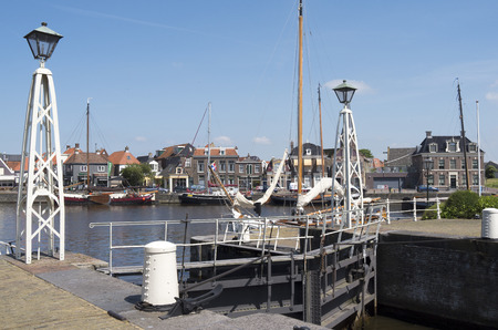 lemmer: NETHERLANDS - LEMMER - MEDIA JULY 2014  Lemster lock in the port of Lemmer in Friesland