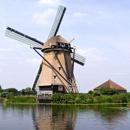 Rietveldse mill in Hazerswoude-Dorp, The Netherlands.