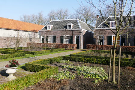 delft: NETHERLANDS - DELFT - CIRCA JANUARY 2015: Hofje of Pauw.