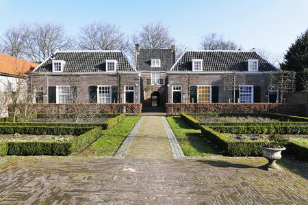 delft: NETHERLANDS - DELFT - CIRCA JANUARY 2015: Hofje of Pauw.
