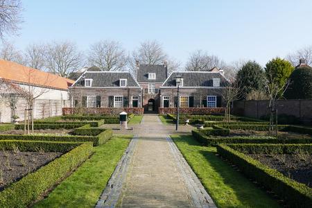 NETHERLANDS - DELFT - CIRCA JANUARY 2015: Hofje of Pauw.