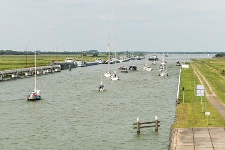 lemmer: NETHERLANDS - LEMMER - MEDIA AUGUST 2015: Princess Margriet canal.