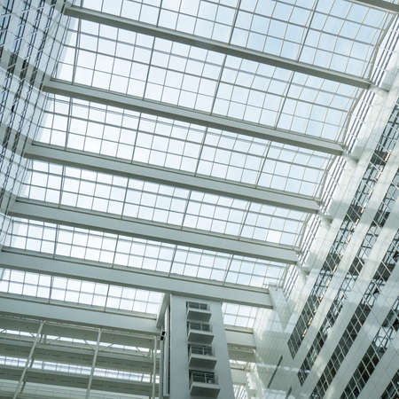 richard: NETHERLANDS - THE HAGUE - CIRCA MARCH 2016: Roof of the City Hall in The Hague, designed by Richard Meier.