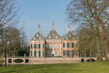 opulence: Duivenvoorde Castle on estate Duivenvoorde in Voorschoten, Netherlands.