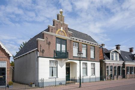 NETHERLANDS - LEMMER - MEDIA APRIL 2017: Historic building in the city of Lemmer in Friesland, Netherlands. Editorial