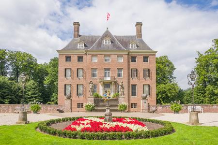NETHERLANDS - AMERONGEN - JULY 23, 2017: Castle Amerongen in Amerongen in the Netherlands.