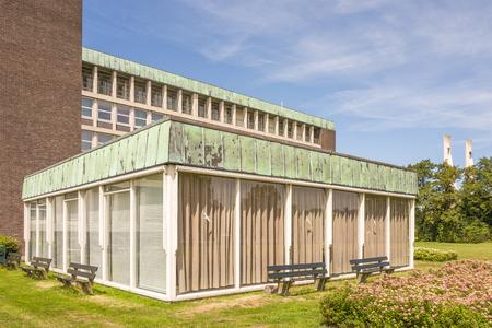 NETHERLANDS - VOORBURG - JULY 9, 2017: Hospital building Reinier de Graaf Hospital in Voorburg.