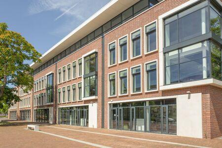 NETHERLANDS - LEIDSCHENDAM - JULY 9, 2017: City office in Leidschendam build in 2012.