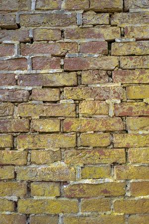 Old brick wall in Park Duivenvoorde in Voorschoten, Netherlands. Reklamní fotografie