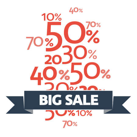 new arrivals: Stylish Big Sale poster, banner or flyer design with discount offer on new arrivals.