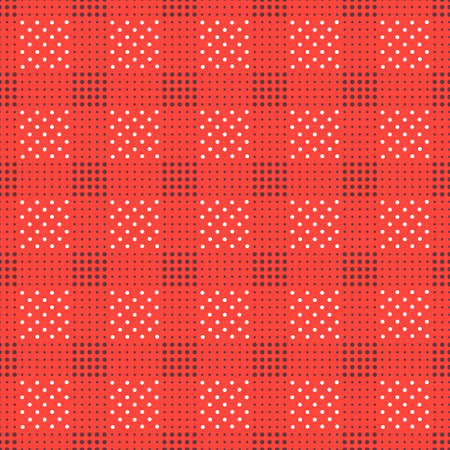 seamless pattern. Modern stylish texture. Repeating geometric tiles with dotted square.