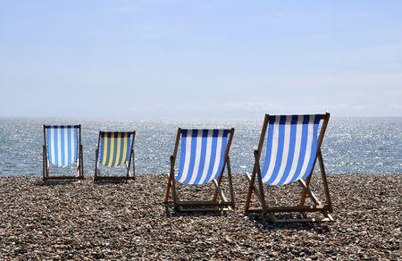 A nice sunny day on Brighton beach photo