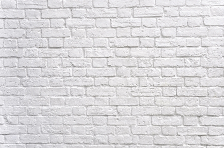 brick: Wei�e Wand  Lizenzfreie Bilder