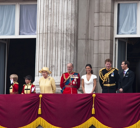 The royal wedding in London, April 29th, 2011