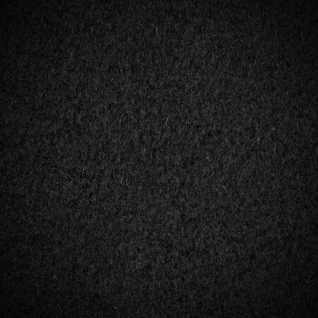 wool fiber: Textura de lana negro con vignette