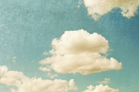Vintage sky, retro style background photo