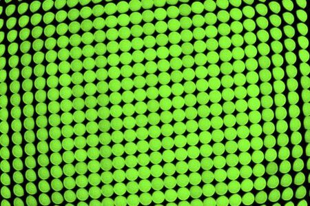 Green dots background, out of focus LED display photo