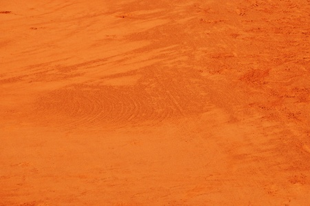 Closup of a clay tennis court at Roland Garros, Paris, France Stock Photo - 9830183