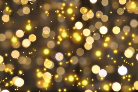 Golden background, perfect for Christmas or New Years Eve photo