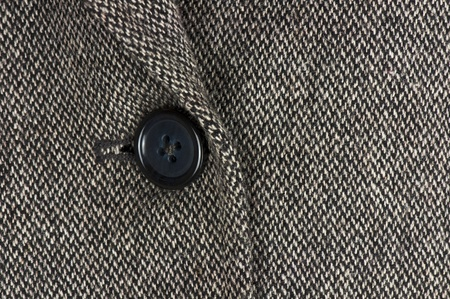 Tweed jacket detail, fashion concept photo