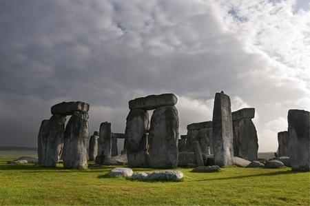 stonehenge: Stonehenge prehistoric monument, england, UK