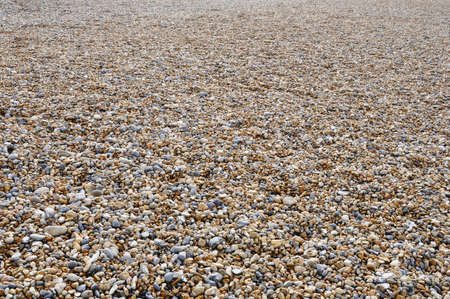 Pebble Beach: Brighton pebble beach in UK