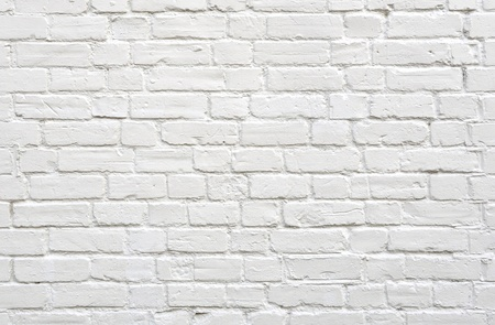 Ladrillo pared blanca de fondo Foto de archivo - 11365561